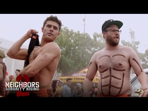 """Neighbors 2 - """"Teddy Gets Oiled Up"""" - In Theaters May 20 (HD)"""