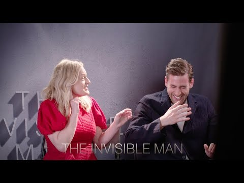 The Invisible Man - Prank Video with Elisabeth Moss & Oliver Jackson-Cohen [HD]