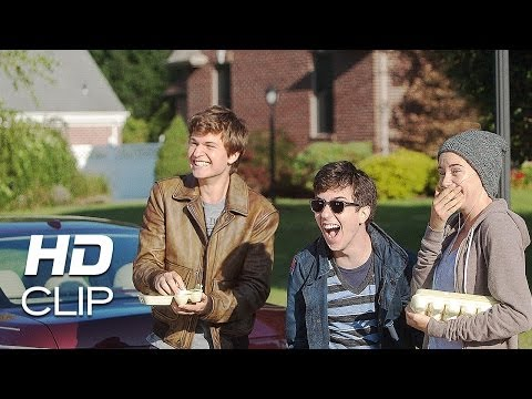The Fault in Our Stars   Hazel, Gus and Isaac Egging   Clip HD