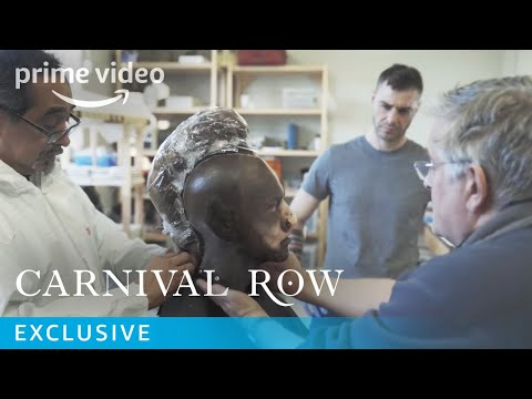 Carnival Row Creature Makeup Transformation Behind the Scenes | Prime Video