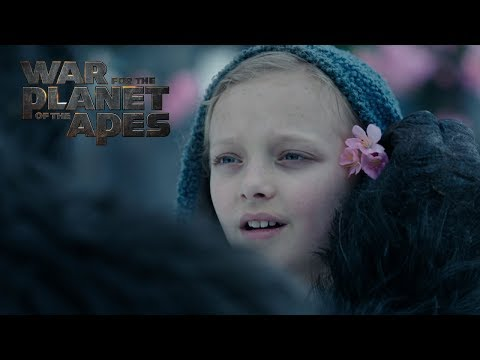 War for the Planet of the Apes | Official Clip 'Nova' | HD | NL/FR | 2017