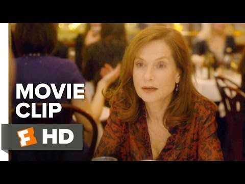 Elle Movie CLIP - How About We Order? (2016) - Isabelle Huppert Movie