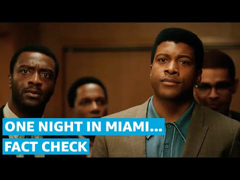 Check the Facts in One Night In Miami... | Prime Video