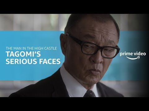 Man in the High Castle Tagomi's Best Reactions | Prime Video