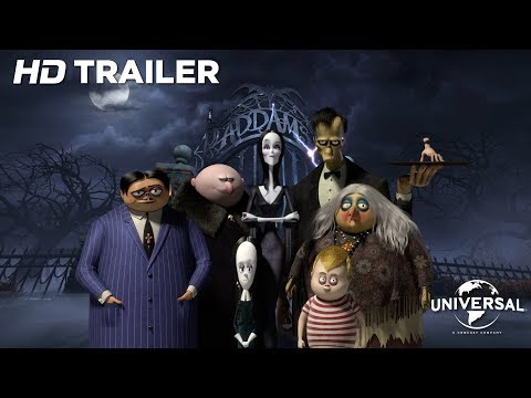 The Addams Family - Officiële Trailer (Universal Pictures) HD