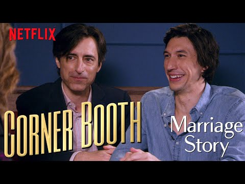 Adam Driver and Noah Baumbach Talk Marriage Story in the Corner Booth | Netflix