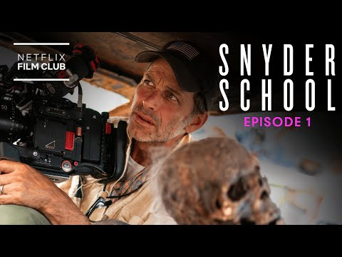 Zack Snyder Breaks Down Army of the Dead's Epic Opening Titles   Snyder School   Netflix