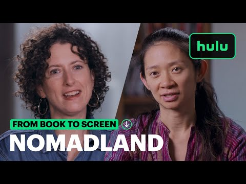 From Book to Screen (Screenplay) | Nomadland | Hulu