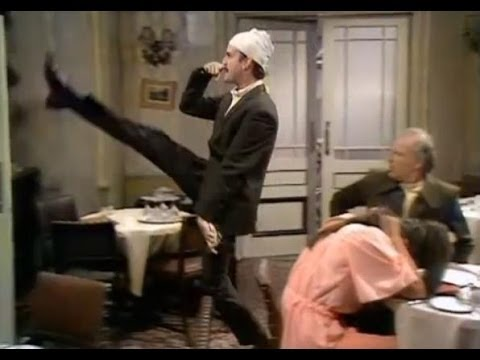 Don't Mention the War!   Fawlty Towers   BBC Comedy Greats
