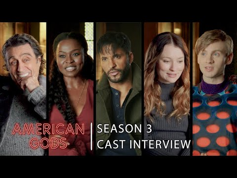 Cast Interview: Why fans should be excited about Season 3 | American Gods - Season 3