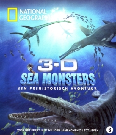 Sea Monsters: A Prehistoric Adventure in 3-D Blu-ray review op